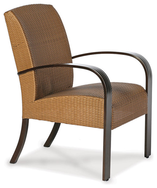 moderne dining armchair Contemporary Outdoor Dining Chairs by Thos Baker