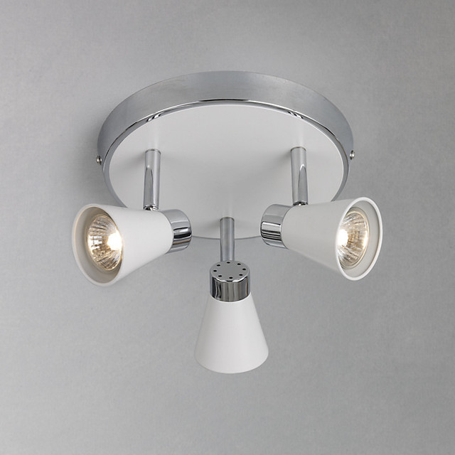 Ceiling Light Fittings At John Lewis : Logan spotlight ceiling plate modern spotlights and