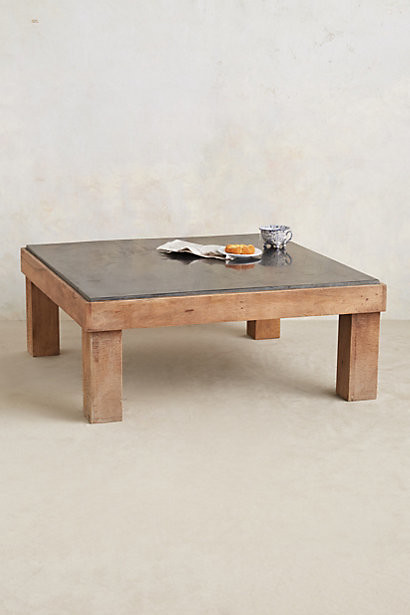 Slate Inset Coffee Table Contemporary Coffee Tables By Anthropologie