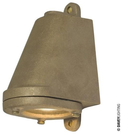 Mid Century Wall Lights Uk: Davey 0749 LED GU10 Mast Light Sandblasted Bronze