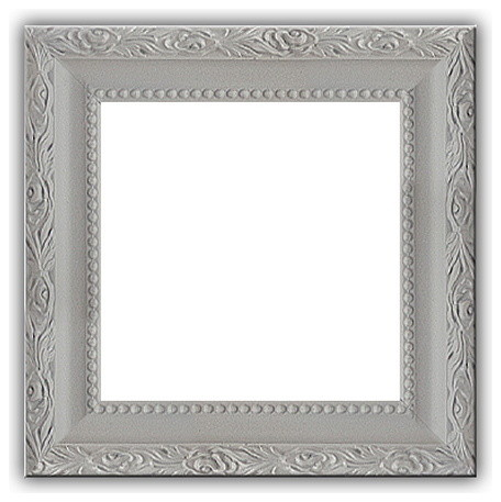 Grey Gray Solid Wood Photo Picture Frame Gray 4x5