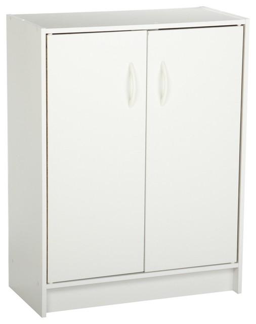 Closetmaid Pantry Storage Cabinet With Two Door Organizer White Modern Oak