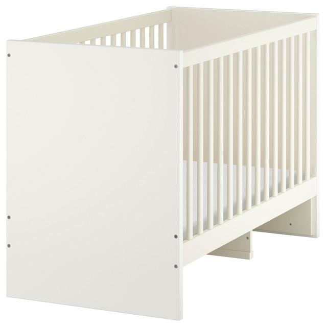 stuva bauhaus look babybetten von ikea. Black Bedroom Furniture Sets. Home Design Ideas