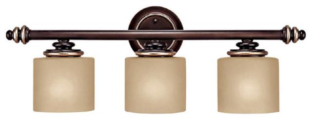 Capital Lighting 1133cz 296 Park Place Champagne Bronze 3 Light Vanity Traditional Bathroom
