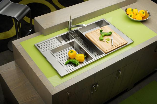 Elkay Kitchen Sink Avado Eft402211 Modern Kitchen Sinks By Build Com