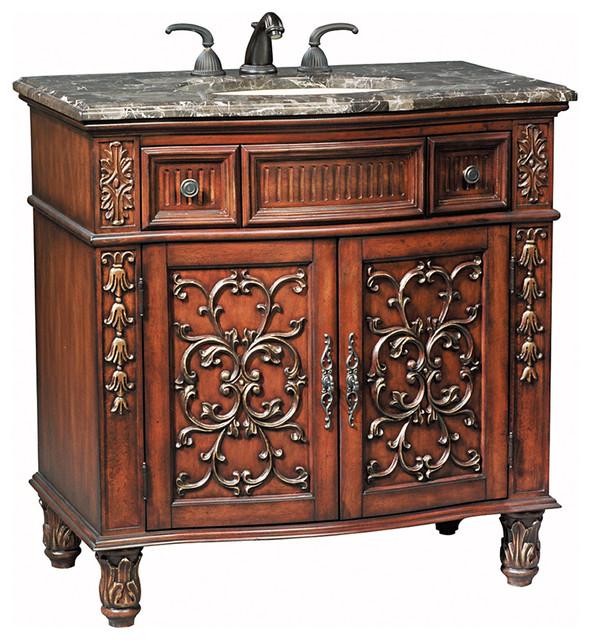 35 5 Morgan Single Bath Vanity Victorian Bathroom Vanity Units Sink Cabinets San Diego
