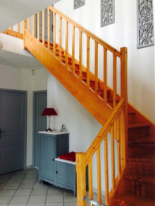 Besoin d 39 aide pour cage d 39 escalier entr e merci - Amenager une cage d escalier ...