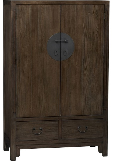 Beijing Armoire - Asian - Armoires And Wardrobes