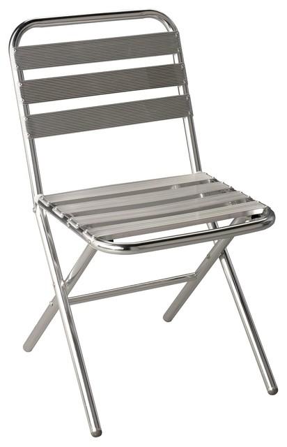 techno chaise pliante en aluminium contemporain chaise pliante de jardin par alin a. Black Bedroom Furniture Sets. Home Design Ideas
