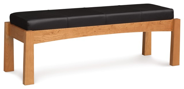 Copeland Berkeley Bench Natural Cherry With Coffee