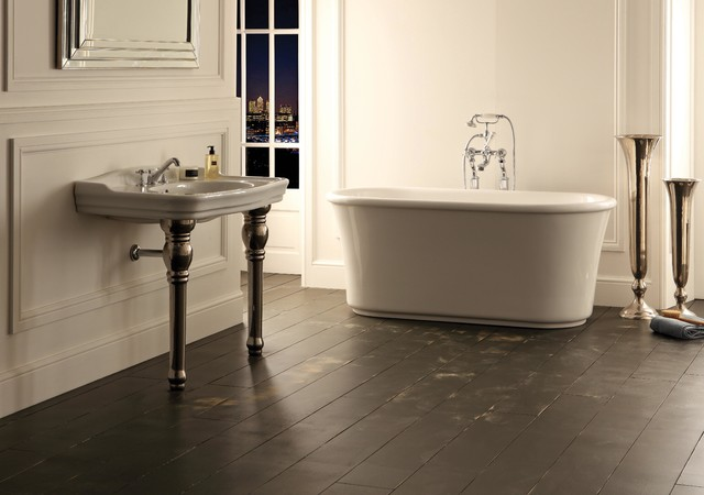 Copo Freestanding Bath Tub Albion Bath Company Traditional Baths By T