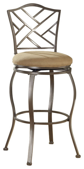 Hillsdale Brookside Hanover Swivel 24 Inch Counter Height  : traditional bar stools and counter stools from www.houzz.com size 294 x 592 jpeg 37kB
