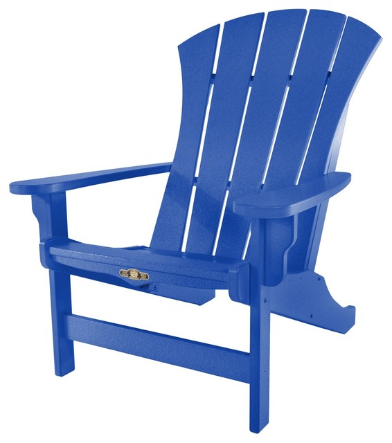 durawood sunrise adirondack chair blue transitional adirondack chairs