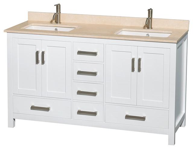 Bathroom Vanities With Square Sinks : ... & Undermount Square Sink modern-bathroom-vanities-and-sink-consoles