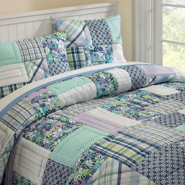 patchwork quilts bedding 2