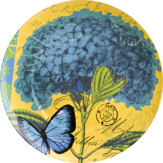 Impressions Hydrangea Plates Set of 4 Contemporary  : contemporary dinner plates from www.houzz.com size 640 x 640 jpeg 147kB