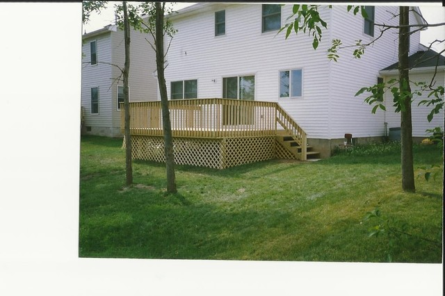 Deck construction in rochester ny new york by kilbury for Pool design rochester ny