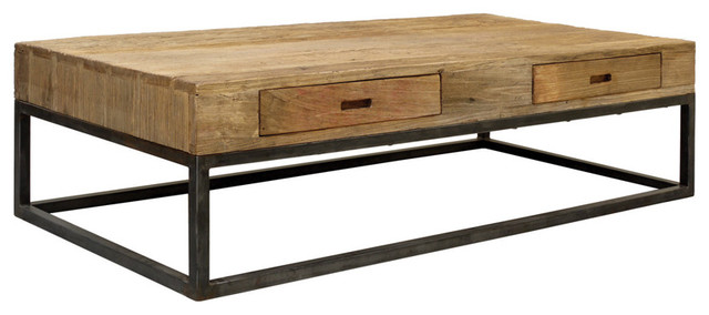 Table basse rectangulaire modern coffee tables by for Table basse design solde