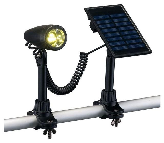 Hampton Bay Copper Metal 3 Tier Solar Landscape Lighting: Hampton Bay Path & Landscape Lights Outdoor Black Solar 3