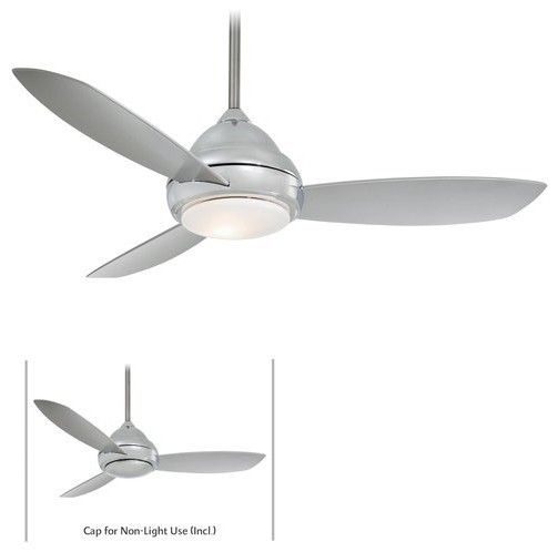 3 Blade 52 Ceiling Fan Light Handheld Remote Control And Blades Included Modern Ceiling