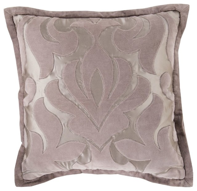 Purple And Gray Decorative Pillows : Contemporary Sweet Dreams Decorative Pillow - Contemporary - Decorative Pillows - by RugPal
