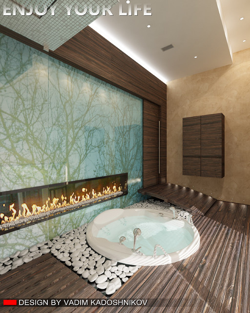 Contemporary interior design contemporary bathroom for Bathroom ideas vancouver