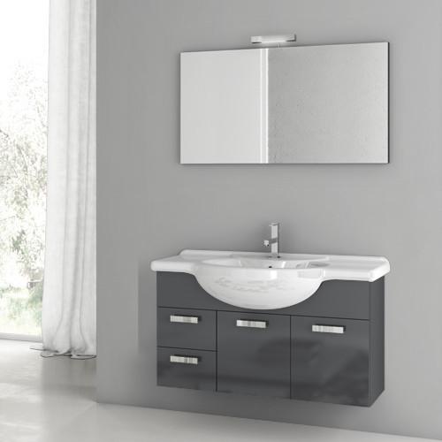 Multi finish complete vanity set contemporary bathroom vanities and sink consoles Complete bathroom vanity
