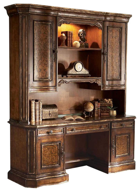 Credenza Base Only - Traditional - Bookcases