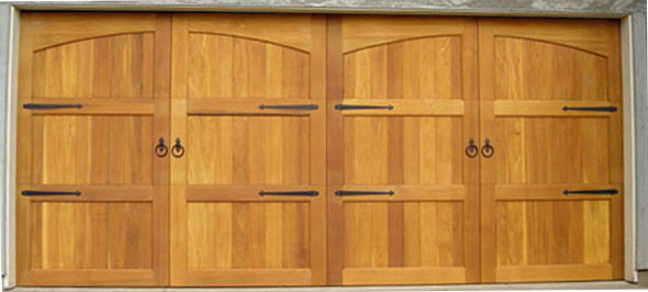 Sonoma Valley Carriage House Garage Doors - Traditional - Garage Doors And Openers - by M4L,Inc