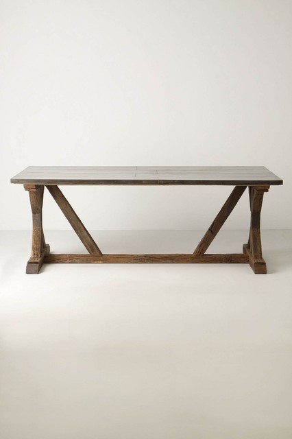 Modern Farmhouse Table Eclectic Dining Tables Other by Rebekah Zavelo
