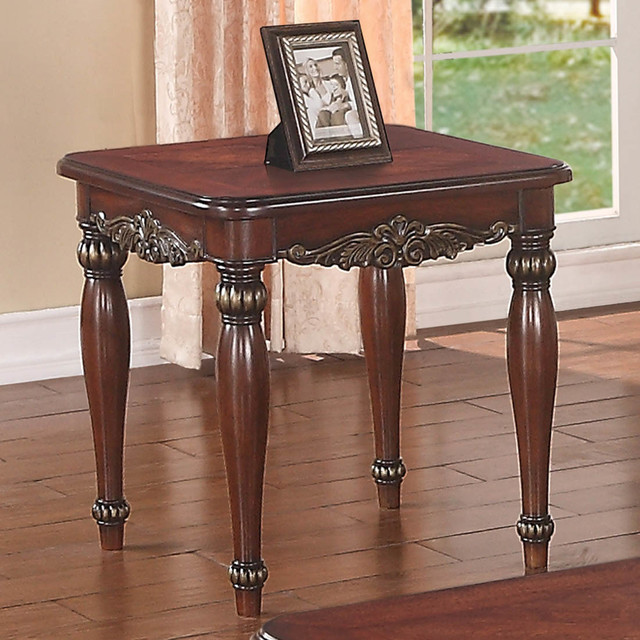 Dark Cherry End Table Modern Side Tables And End Tables