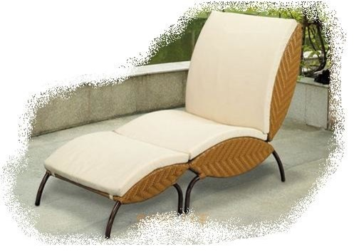 Paris chaise lounge mediterranean outdoor chaise for Chaise longue tours