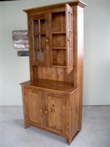 China Cabinets & Hutches - Farmhouse - China Cabinets And Hutches - boston - by ECustomFinishes