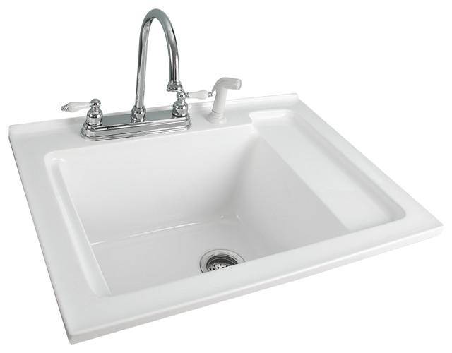 Acrylic Utility Sink : 30