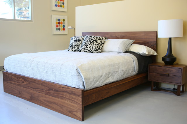 Bedroom Furniture Modern Bed Frames Other Metro By Buywood