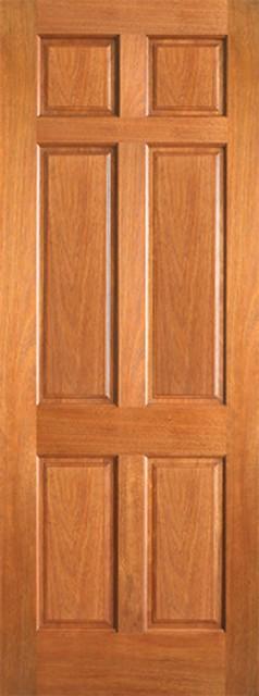 Single Wood Panel ~ P interior wood mahogany panel single door