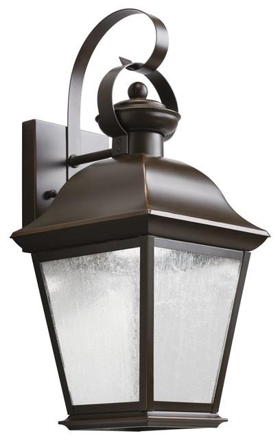 Traditional Outside Wall Lights : Kichler Lighting Mount Vernon Traditional X-DELZO8079 - Traditional - Outdoor Wall Lights And ...