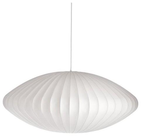 Nelson saucer pendant lamp moderne suspension luminaire par design with - Suspension georges nelson ...