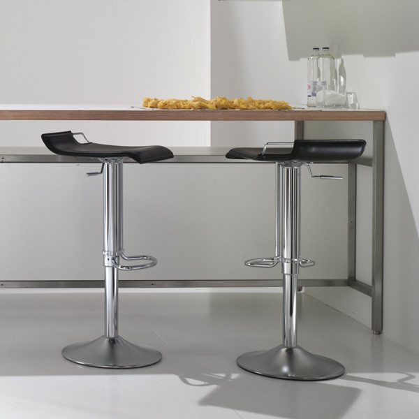 bonaldo hoppy leather bar stool contemporary bar