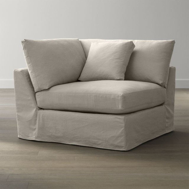 Slipcover Only for Lounge Petite Corner - Contemporary ...