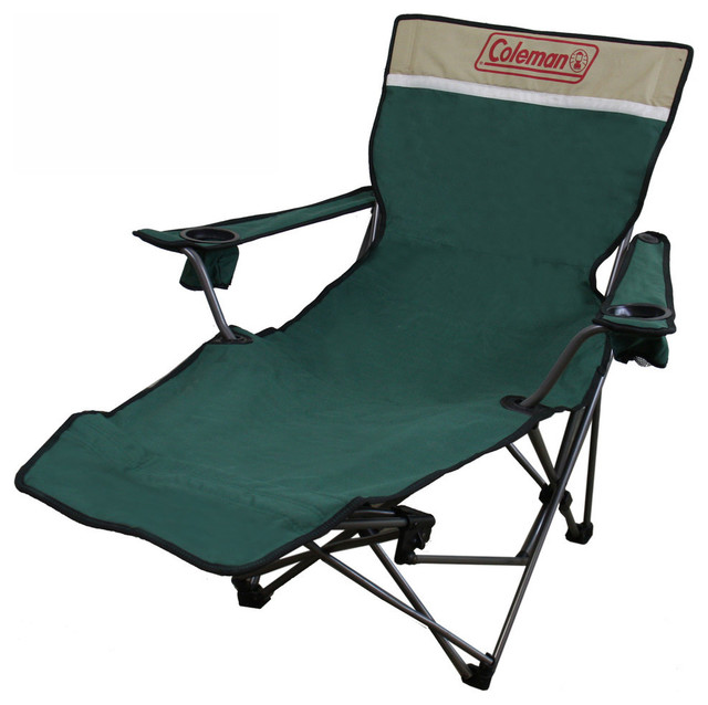 Portable Lounge Reclining Green Chair Modern Outdoor Chaise Lounges By