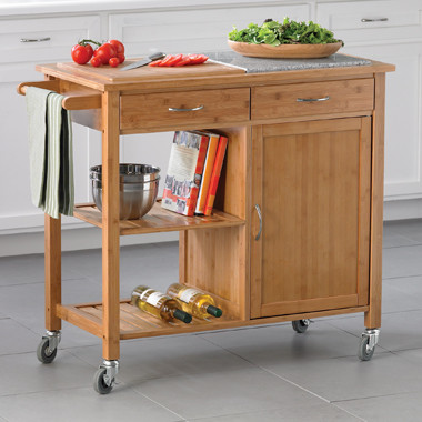bamboo kitchen island traditional kitchen islands and home styles dolly madison kitchen rolling island cart
