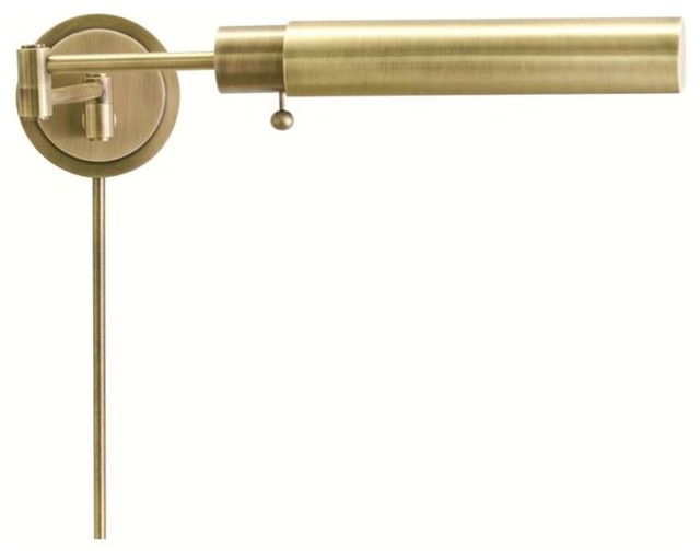 house of troy wall swing antique brass ws12 71 f. Black Bedroom Furniture Sets. Home Design Ideas