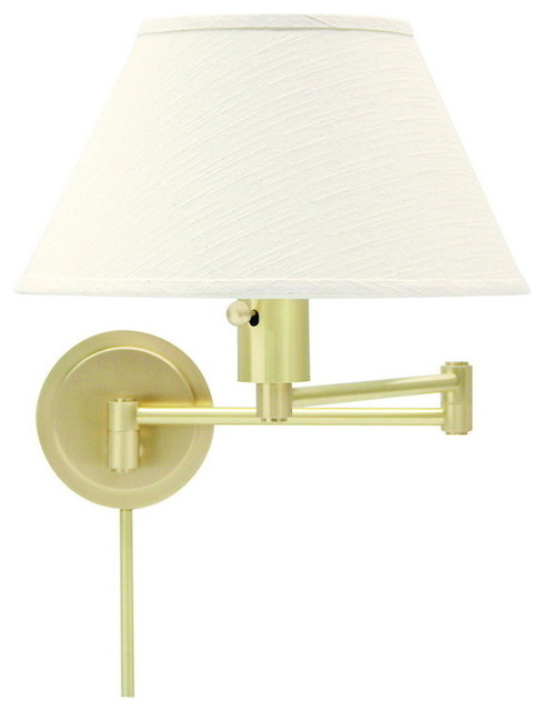 Contemporary Wall Lamps Swing Arms : House of Troy WS14-51 Wall Swing - Contemporary - Swing Arm Wall Lamps - by Eager House