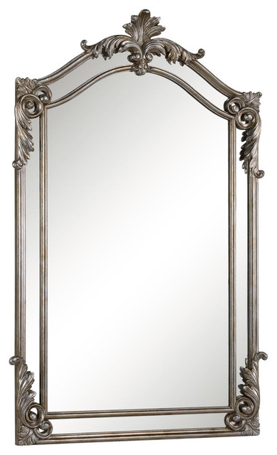 Luxury Winslow Lighted Bathroom Mirror  Traditional  Bathroom Mirrors  San