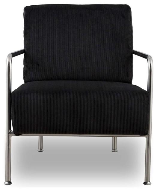 fauteuil design x bang couleur noir industriel fauteuil par. Black Bedroom Furniture Sets. Home Design Ideas
