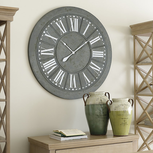 ballard designs kensington wall clock contemporary