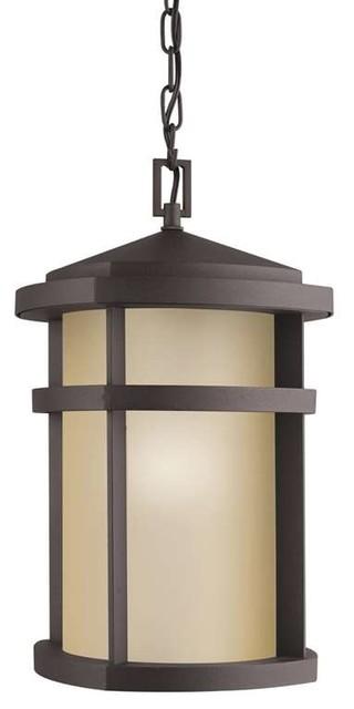 Kichler Lighting 9567AZ Lantana Contemporary Outdoor Hanging Pendant Light