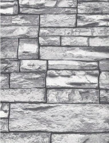 gray brick wallpaper sample contemporary wallpaper