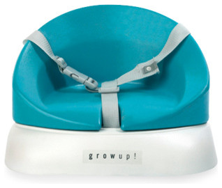 Grow up Booster Seat in Aqua - Modern - High Chairs And Booster Seats ...